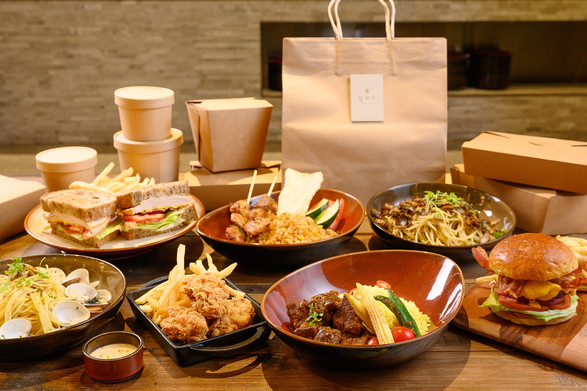 amba Taipei Songshan hotel Que restaurant takeout and food delivery service