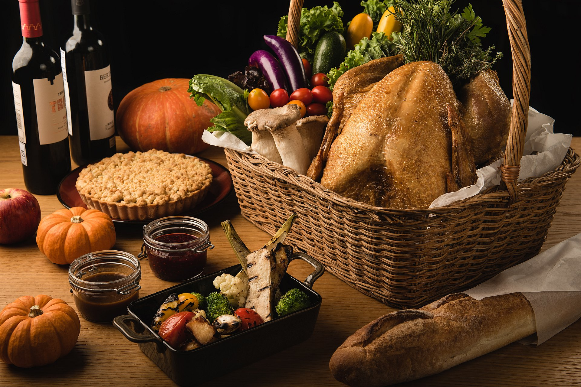 amba Taipei Songshan hotel Que restaurant Thanksgiving Dinner and Thanksgiving Hamper