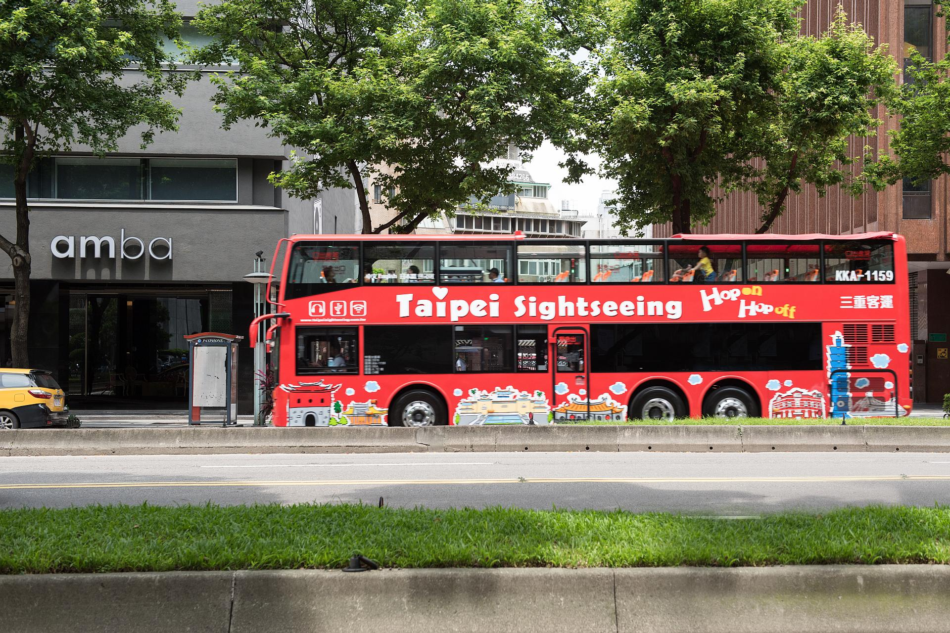 amba Taipei Ximending Hotel Fun Taipei Double Decker Tour Holiday Offer