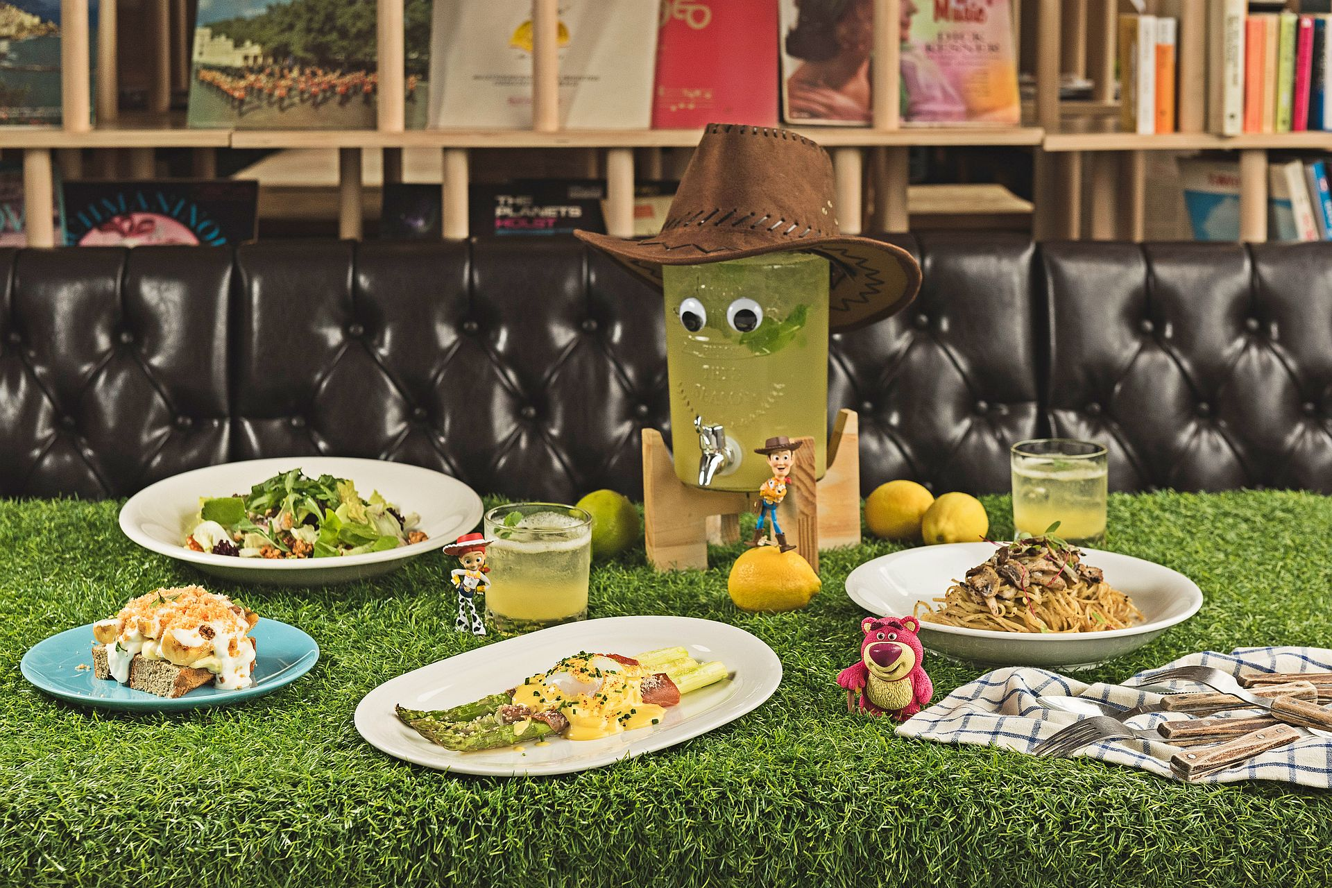 amba Taipei Ximending hotel chiba restaurant Toy Story Special Menu For Two