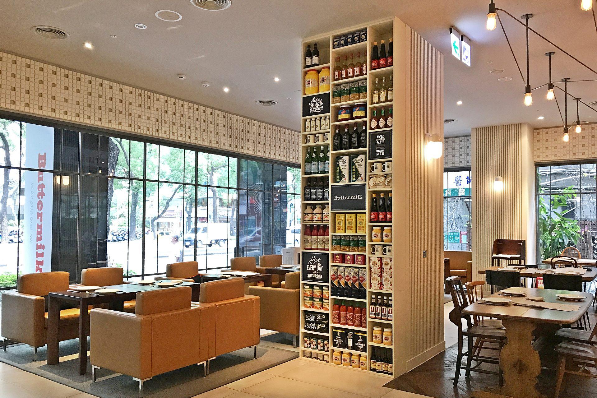 台北新餐廳 | Buttermilk 新美式餐廳 | 台北中山意舍酒店